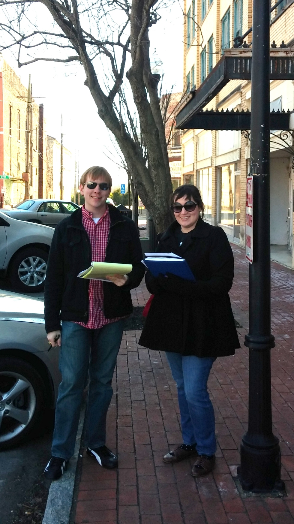 Joey and Jenna in Shelbyville